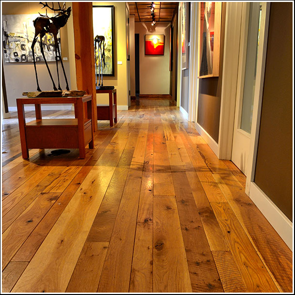 Calico-Floor-in-Art-Gallery for Peak Flooring Inc.