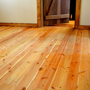 our services include installation of douglas fir wood flooring